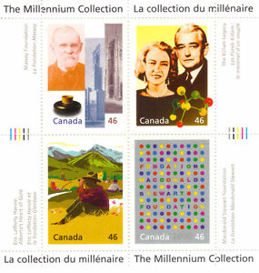 Canada Stamps - The Millennium Collection - A Tradition of Gener West Island Greater Montréal image 1