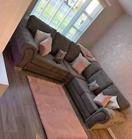 Brand new Verona corner sofa