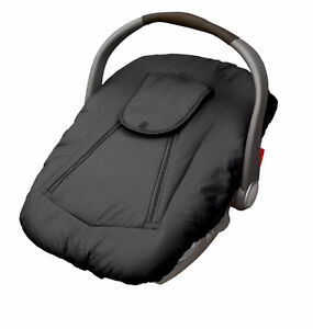 Jolly Jumper Deluxe Sneak-A-Peek Car Seat Cover - Black