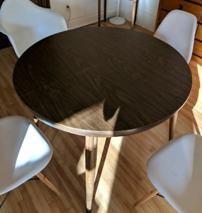 Table salle a manger Dining table Formica vintage