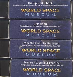 Estate sale: World Space Museum - 4 model kits