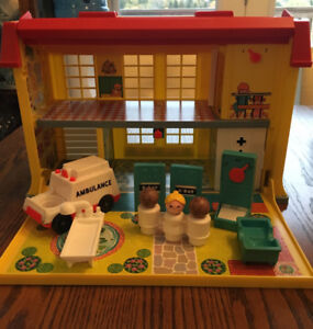 Vintage 1970's Fisher Price Toy Lot
