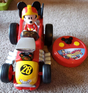 Like New Mickey Mouse Remote Control Car - $25