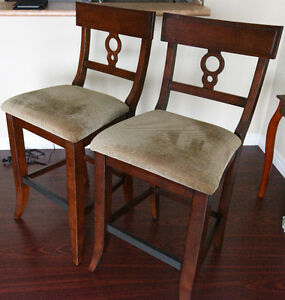 Set of  Two Counter High/Bar Chairs -  $180