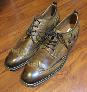 Steve Madden Tan Leather Shoes (brand new)