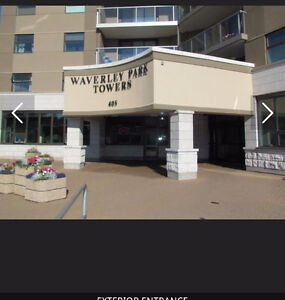 Large 1 Bedroom Condo in Waverly Park Towers - Avail. August 1st