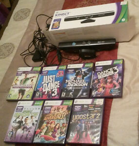 Microsoft Xbox 360 Kinect and Games
