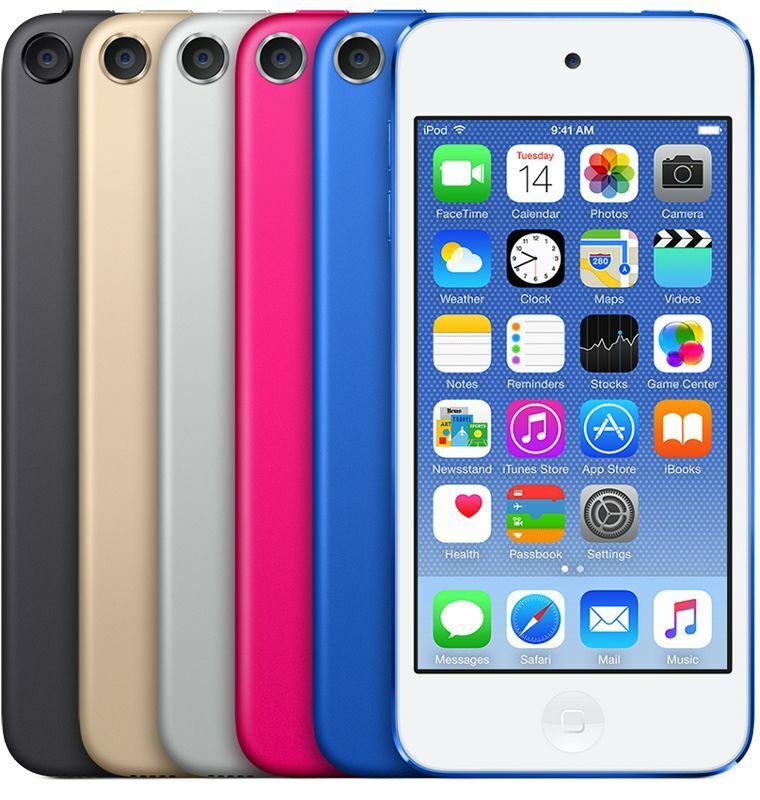 Ipod Touch - Apple iPod Touch (5th, 6th) Generation (16,32)GB (Blue, Gray, Gold) Latest Model