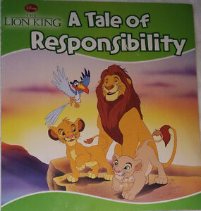 Set of 5 Lion King Toy Figures and Book
