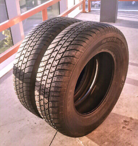 Set of two 215/70/15 Motomaster se tires