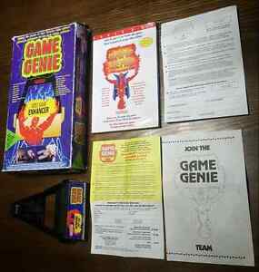 NINTENDO NES GAME GENIE COMPLETE IN BOX ' RARE '  West Island Greater Montréal image 1