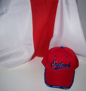 England Sports Supporter Cap and Flag Set London Ontario image 1