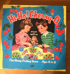 1960 WHITMAN HI - HO CHERRY - O BOARD GAME ~ COMPLETE