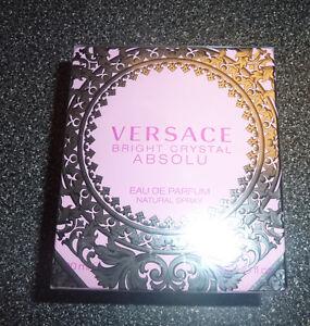 Versace Bright Crystal Absolu Eau De Parfum Spray For Women 90 m