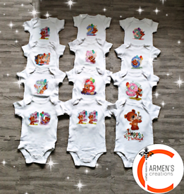 Baby Bodysuits Sets of 12