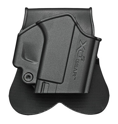 Springfield Armory Xds4500h Xds Black Polymer Holster 9Mm  40 S W 45 Acp