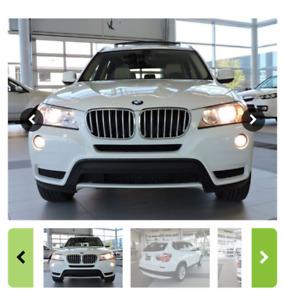 2013 BMW X3 VUS excellent condition et bas kilomètrage