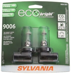 Sylvania 9006/HB4 EB EcoBright Replacement Bulb , (Pack of 2)
