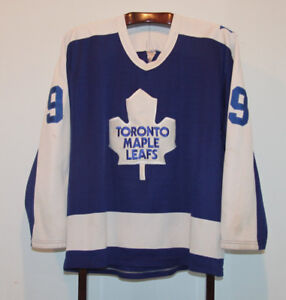 CCM RUSS COURTNALL TORONTO MAPLE LEAFS 3RD HOCKEY JERSEY ADULT L