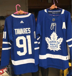 Toronto Maple Leafs Jerseys - S to 3XL - Tavares, Marner, Etc