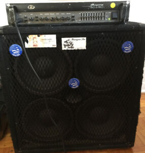 4x10 Bass cabinet with Eminence Speakers