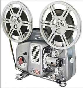 8mm film projector - wanted. Rental?