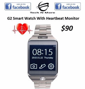 G2 Bluetooth Smart Watch With Heartbeat