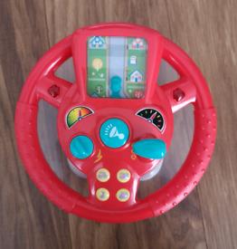 Interactive Toy Steering Wheel
