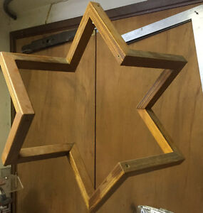 Star - 3D Wooden Star 24 inches across