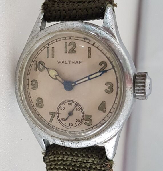Rare Waltham issued manual winding wrist watch, USA, 1950s Military Issued, ORD Dept, USA, OF-178972