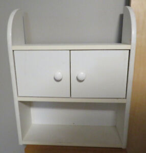 Wall Cabinet (white) SOLD PPU