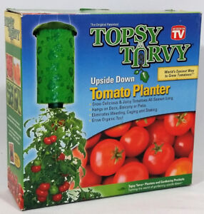 Topsy Turvy Upside Down Tomato Planter - As Seen On TV New