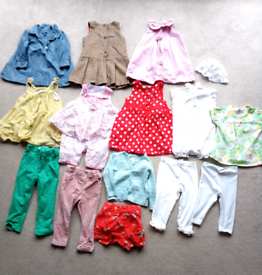 Collection of Next Clothing-girls 12-18 mths