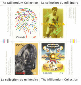 Canada Stamps - The Millennium Collection - Canada's First Peopl West Island Greater Montréal image 1