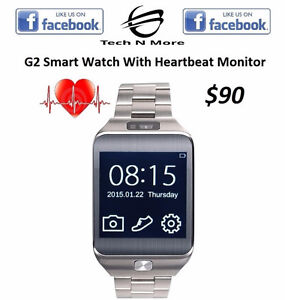 G2 Smart Watch With Heartbeat Monitor