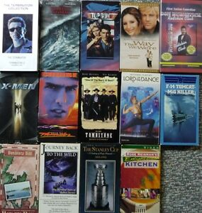 Assorted VHS Tapes/Movies