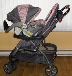 Baby Trend Encore Travel System -Rear Facing Car Seat & Stroller