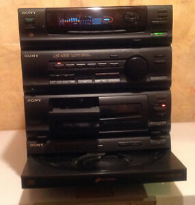 Sony 5CD Changer Stereo System w/speakers