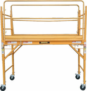 Used Baker Scaffold with guardrails for $250.00(6030 50 Street)