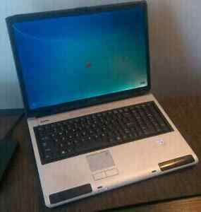 "17"" Windows 7 Enterprise Edition TOSHIBA Satellite laptop"