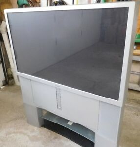 "Free  46 "" Sony  Rear Projection  TV"