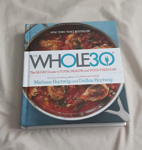 Whole 30 hardcover book