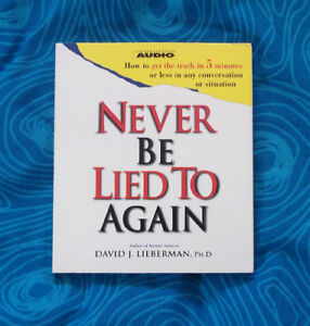 """""""NEVER BE LIED TO AGAIN"""" (in Business,Politics,Friendships) $5"""