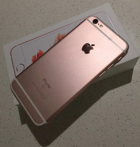 IPHONE 6S PINK 16GB (UNLOCKED)(AMAZING CONDITION)(WARRANTY)