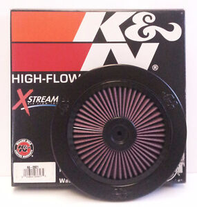 K&N 66-0901 X-Stream Air Filter High Flow Top