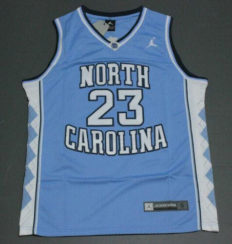 """North Carolina"" #23 Chicago Bulls Basketball Trikot Jersey Blau"