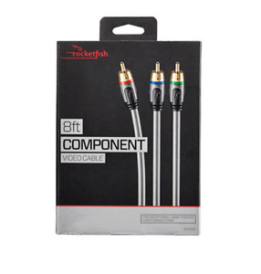 ROCKETFISH Component Video Cable 8' / 2.4m (RF-G1208)