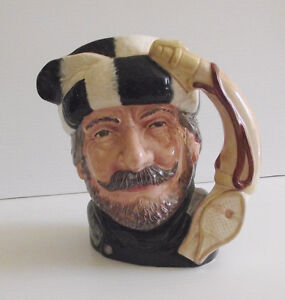ROYAL DOULTON LARGE TOBY JUG ''THE TRAPPER'' $40.00