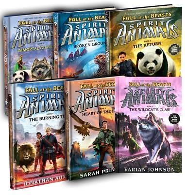 Scholastic SPIRIT ANIMALS FALL OF THE BEASTS Fantasy HARDCOVER Series Books 1-6