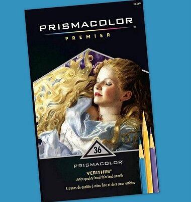 Prismacolor Premier VERITHIN COLORED PENCILS Set of 36 ~ KNOCKOUT CRAFTS